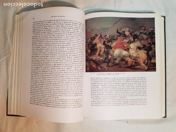 Libros antiguos: HISTORIA DE ESPAÑA DE RAMÓN MENÉNDEZ PIDAL, TOMO XXXV (I,II) LA EPOCA DEL ROMATICISMO ESPASA-CALPE - Foto 20 - 160476678