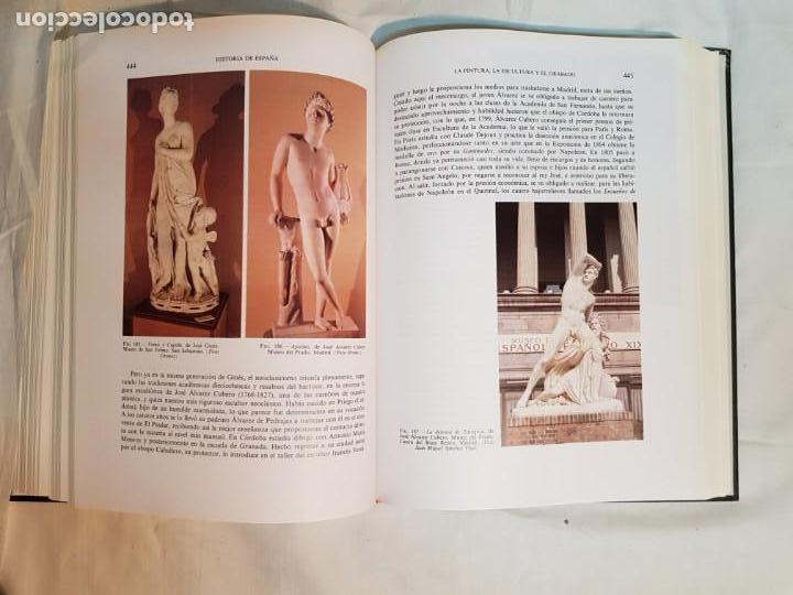 Libros antiguos: HISTORIA DE ESPAÑA DE RAMÓN MENÉNDEZ PIDAL, TOMO XXXV (I,II) LA EPOCA DEL ROMATICISMO ESPASA-CALPE - Foto 22 - 160476678