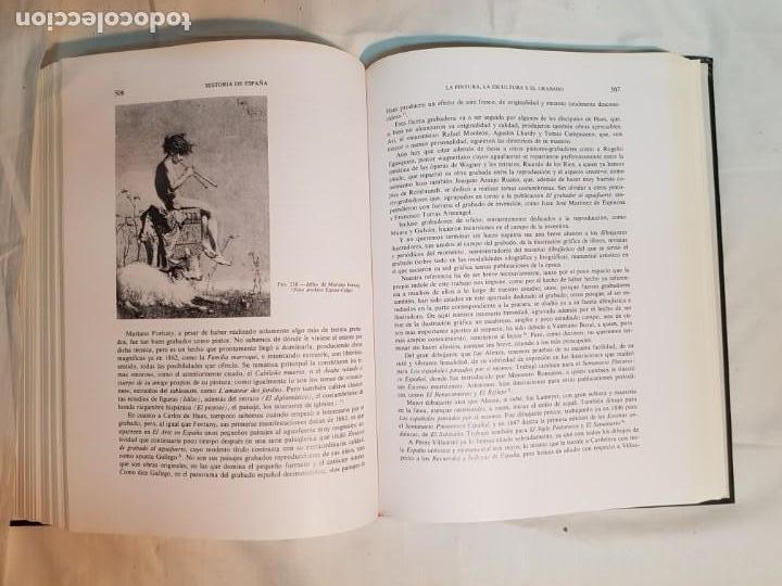 Libros antiguos: HISTORIA DE ESPAÑA DE RAMÓN MENÉNDEZ PIDAL, TOMO XXXV (I,II) LA EPOCA DEL ROMATICISMO ESPASA-CALPE - Foto 23 - 160476678