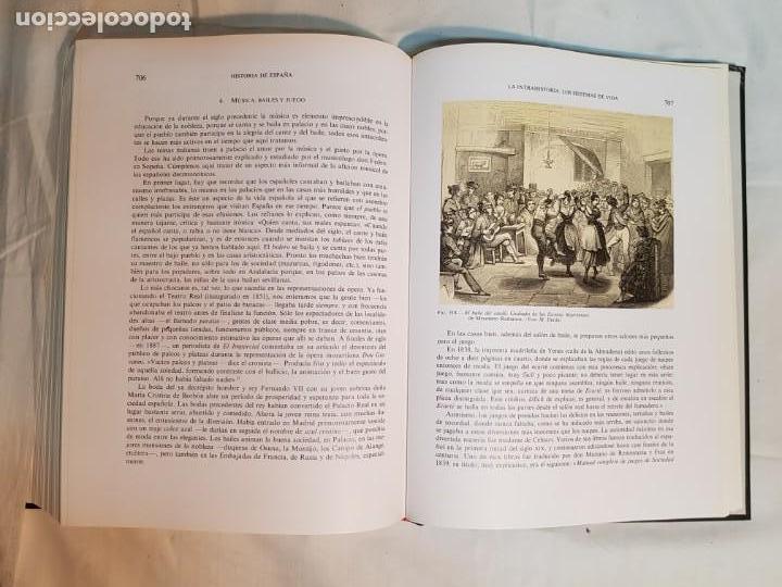 Libros antiguos: HISTORIA DE ESPAÑA DE RAMÓN MENÉNDEZ PIDAL, TOMO XXXV (I,II) LA EPOCA DEL ROMATICISMO ESPASA-CALPE - Foto 26 - 160476678
