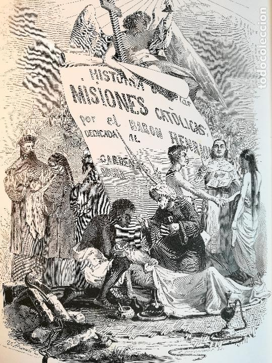 HISTORIA GENERAL DE LAS MISIONES POR EL BARON HENRION TOMO I. 1863 (Libros antiguos (hasta 1936), raros y curiosos - Historia Moderna)