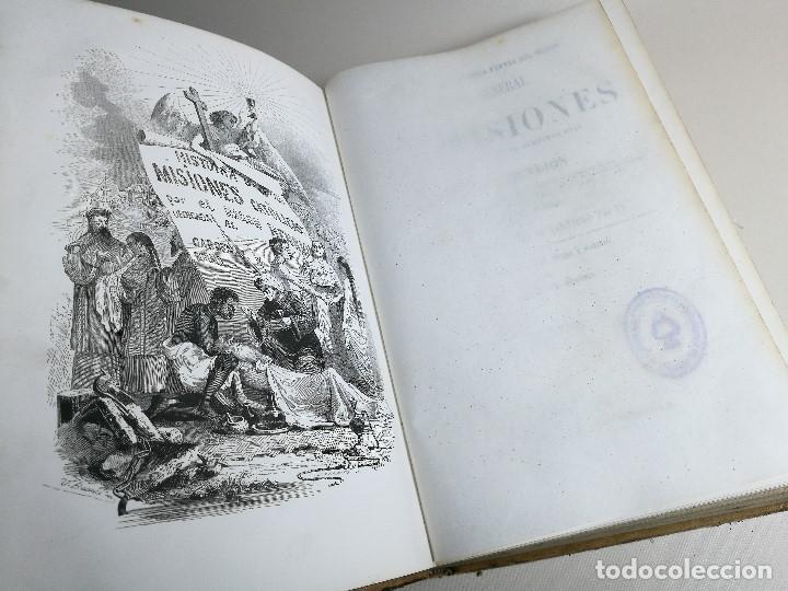 Libros antiguos: HISTORIA GENERAL DE LAS MISIONES POR EL BARON HENRION TOMO I. 1863 - Foto 5 - 163701986