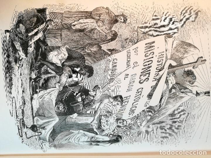 Libros antiguos: HISTORIA GENERAL DE LAS MISIONES POR EL BARON HENRION TOMO I. 1863 - Foto 17 - 163701986