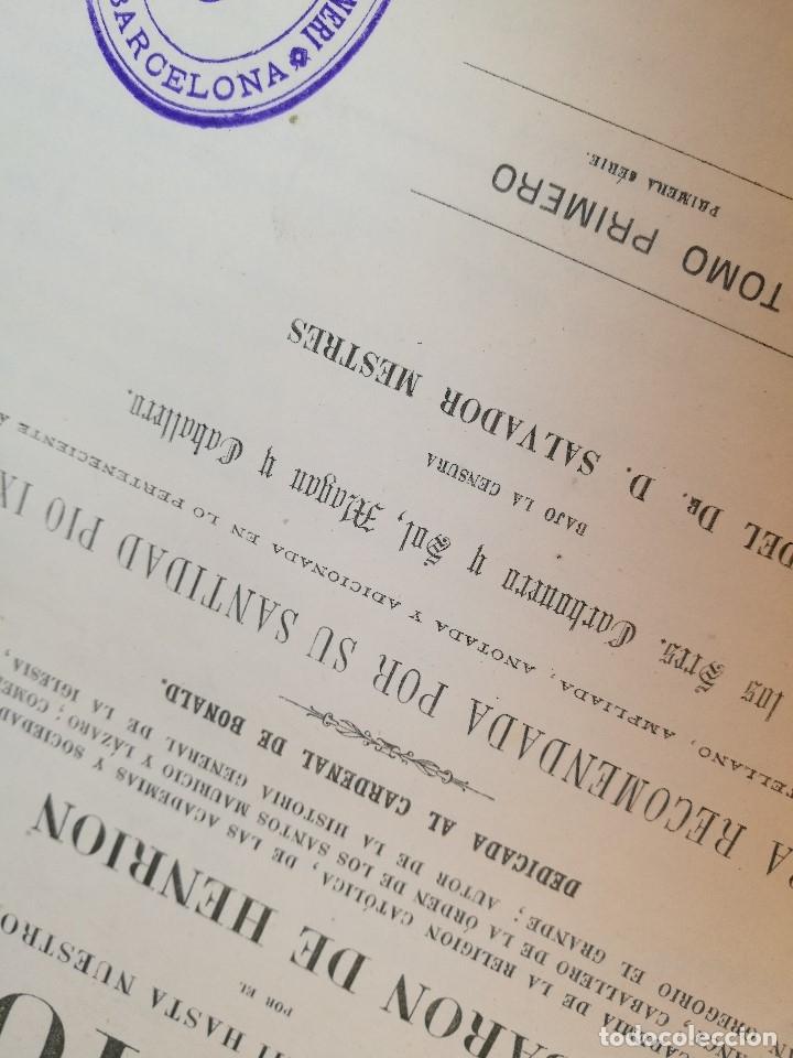 Libros antiguos: HISTORIA GENERAL DE LAS MISIONES POR EL BARON HENRION TOMO I. 1863 - Foto 20 - 163701986