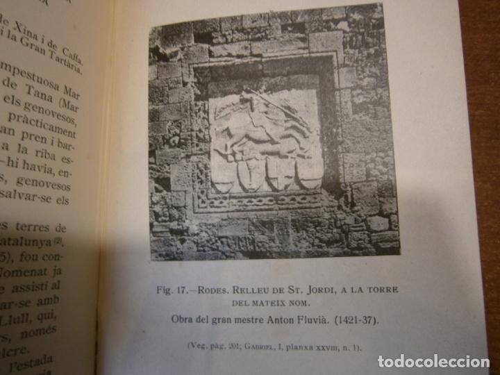Libros antiguos: LEXPANSIÓ DE CATALUNYA EN LA MEDITERRANEA ORIENTAL. AÑO 1926 - Foto 6 - 165237590