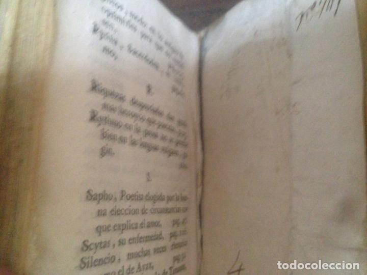 Libros antiguos: ANTIGUO LIBRO EL SUBLIME DE DIONISIO LONGINO DON MANUEL PEREZ MADRID 1770 - Foto 3 - 166166070