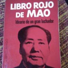 Libros antiguos: LOTE COMPUESTO POR 2 TÍTULOS - EL LIBRO ROJO DE MAO Y ADIÓS,MAO DE VICENTE TALON. Lote 167189344