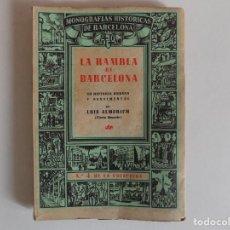 Livros antigos: LIBRERIA GHOTICA. LUIS ALMERICH. LA RAMBLA DE BARCELONA. 1945. MUY ILUSTRADO.. Lote 167196164