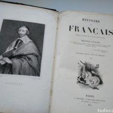 Libros antiguos: HISTORIA DE FRANCIA (1845) - HISTOIRE DES FRANÇAIS, DESDE 1589 A 1814. Lote 168215481