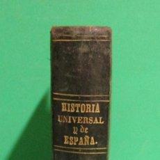 Libri antichi: HISTORIA UNIVERSAL/ PRONTUARIO HISTORIA DE ESPAÑA / PRONTUARIO ORTOGRAFIA/ JOSE Mª FLOREZ AÑO 1858. Lote 168295184