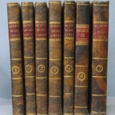 Libros antiguos: 1820-1821.- COLECCION DE LOS DECRETOS Y ORDENES QUE HAN EXPEDIDO LAS CORTES GENERALES. 7 TOMOS. Lote 168452516