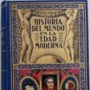 Libros antiguos: HISTORIA DEL MUNDO EN LA EDAD MODERNA - TOMO I - EL RENACIMIENTO - EDITORIAL RAMÓN SOPENA - AÑO 1935. Lote 168609468
