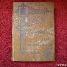 Libri antichi: VILAFRANCA DEL PENADÉS SU HISTORIA Y MONUMENTOS AGUSTIN COY 1909. Lote 168803728