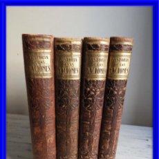 Libros antiguos: ENCICLOPEDIA HISTORIA DE LAS NACIONES EDIT SEGUI 4 TOMOS. Lote 168859852