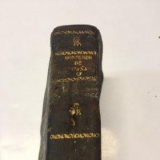 Libros antiguos: COMPENDIO CRONOLÓGICO DE LA HISTORIA DE ESPAÑA. Lote 168999937