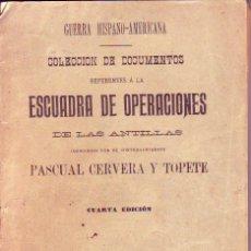 Libros antiguos: GUERRA HISPANO-AMERICANA COLECCION DE DOCUMENTOS 1904. Lote 169255280