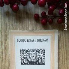 Libros antiguos: ORIGEN Y HECHOS HISTÓRICOS DE MATARÓ. Lote 169834664