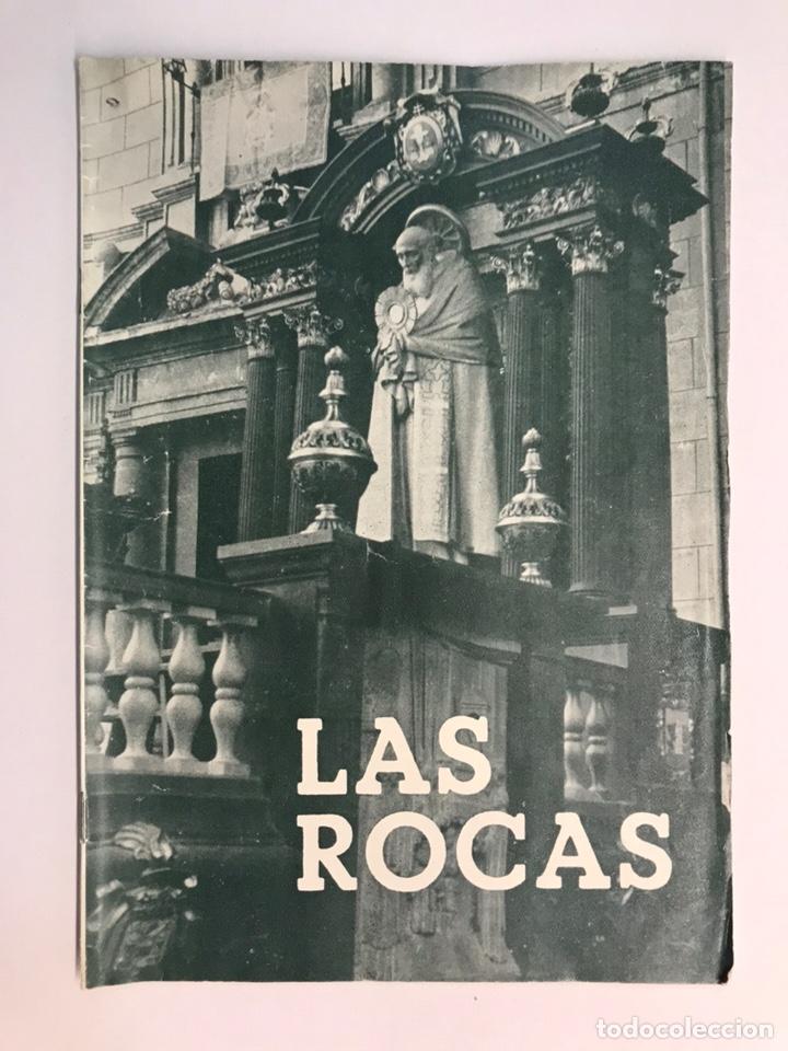 LAS ROCAS. VALENCIA POR, VICENTE FERRER OLMO. LIBRO LAS ROCAS DE LA PROCESIÓN DEL CORPUS..(A.1962) (Libros antiguos (hasta 1936), raros y curiosos - Historia Moderna)