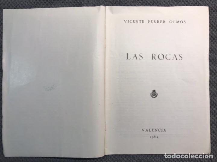 Libros antiguos: LAS ROCAS. Valencia por, Vicente Ferrer Olmo. Libro Las Rocas de la Procesión del Corpus..(a.1962) - Foto 2 - 170379512