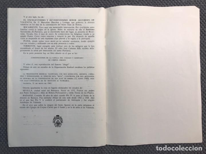 Libros antiguos: LAS ROCAS. Valencia por, Vicente Ferrer Olmo. Libro Las Rocas de la Procesión del Corpus..(a.1962) - Foto 8 - 170379512