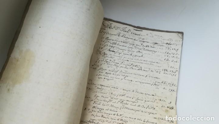LIBRO DE CUENTAS FRANCISCO MARTÍ, SIGLO XVIII, CATALUÑA. EJÉRCITO, BATALLÓN TARRAGONA Y GERONA. (Libros antiguos (hasta 1936), raros y curiosos - Historia Moderna)