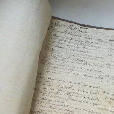 Libros antiguos: LIBRO DE CUENTAS FRANCISCO MARTÍ, SIGLO XVIII, CATALUÑA. EJÉRCITO, BATALLÓN TARRAGONA Y GERONA.. Lote 170505092