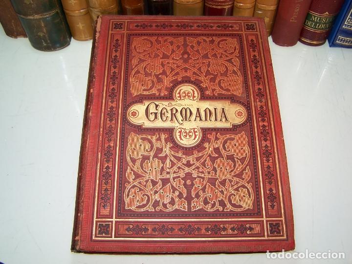Libros antiguos: Germania. Dos mil años de historia Alemana. Juan Scherr. Barcelona. Montaner y Simón. 1882. - Foto 2 - 170864885
