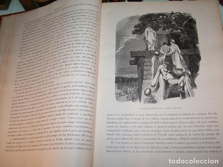 Libros antiguos: Germania. Dos mil años de historia Alemana. Juan Scherr. Barcelona. Montaner y Simón. 1882. - Foto 4 - 170864885