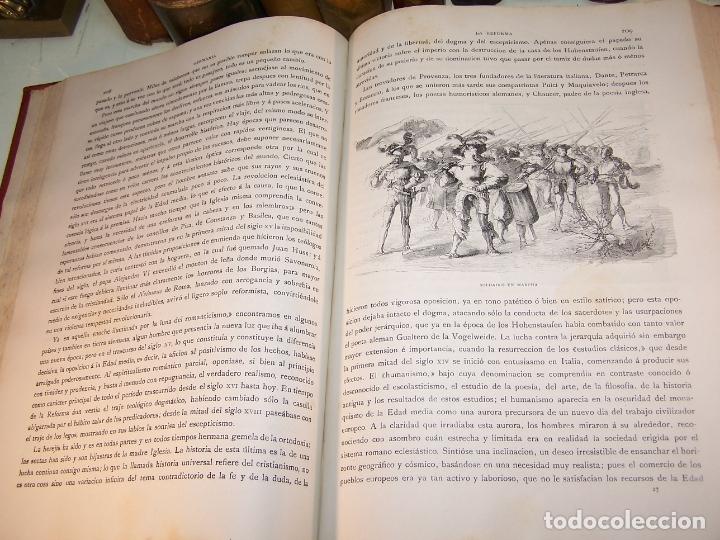 Libros antiguos: Germania. Dos mil años de historia Alemana. Juan Scherr. Barcelona. Montaner y Simón. 1882. - Foto 6 - 170864885