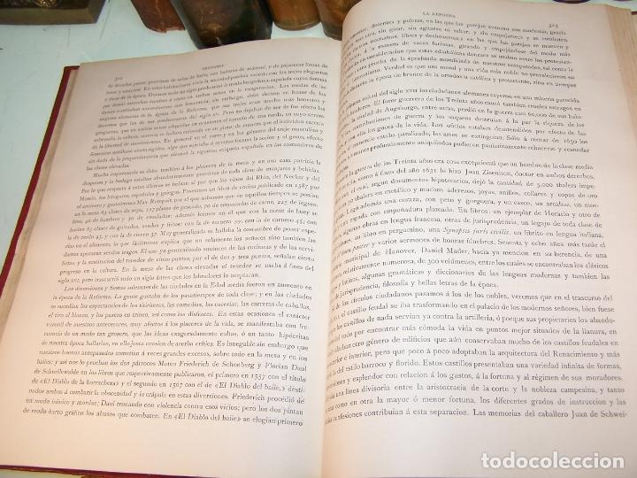 Libros antiguos: Germania. Dos mil años de historia Alemana. Juan Scherr. Barcelona. Montaner y Simón. 1882. - Foto 7 - 170864885