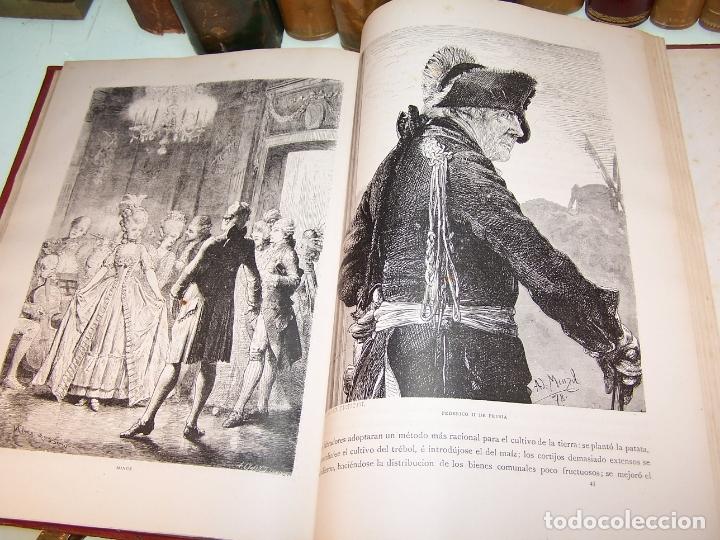Libros antiguos: Germania. Dos mil años de historia Alemana. Juan Scherr. Barcelona. Montaner y Simón. 1882. - Foto 8 - 170864885