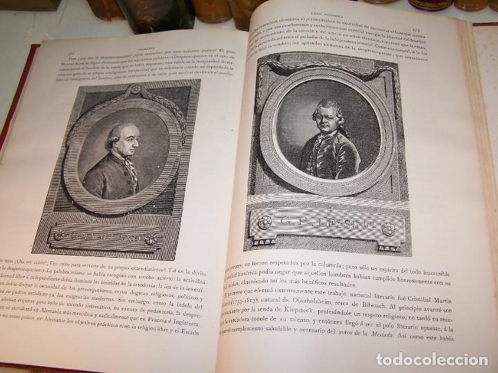 Libros antiguos: Germania. Dos mil años de historia Alemana. Juan Scherr. Barcelona. Montaner y Simón. 1882. - Foto 9 - 170864885