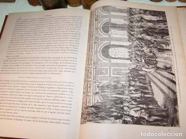 Libros antiguos: Germania. Dos mil años de historia Alemana. Juan Scherr. Barcelona. Montaner y Simón. 1882. - Foto 10 - 170864885