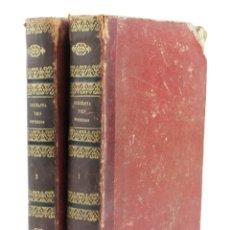 Libros antiguos: BARCELONA Y SUS MISTERIOS, 2 TOMOS, ANTONIO ALTADILL, 1860, MADRID, BARCELONA. 25X17,5CM. Lote 171009667