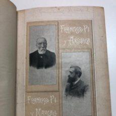 Libros antiguos: PI Y MARGALL. HISTORIA DE ESPAÑA EN EL SIGLO XIX. TOMO I. 1902.. Lote 171506559