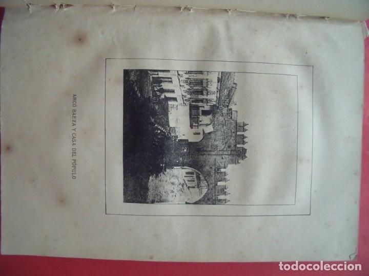 Libros antiguos: FERNANDO DE COZAR MARTINEZ.-HISTORIA DE BAEZA.-NOTICIAS Y DOCUMENTOS.-BAEZA.-JAEN.-AÑO 1884. - Foto 3 - 172002092