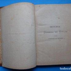 Libros antiguos: HISTORIA GENERAL DE ESPAÑA Y DE SUS POSESIONES DE ULTRAMAR - TOMO III - ZAMORA Y CABALLERO - 1876. Lote 172062582