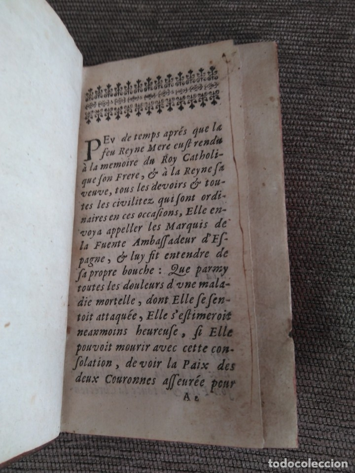 Libros antiguos: 1667. Tratado de la reina cristianisima sobre diversos estados del reino de España. Antoine Bilain. - Foto 2 - 172303424