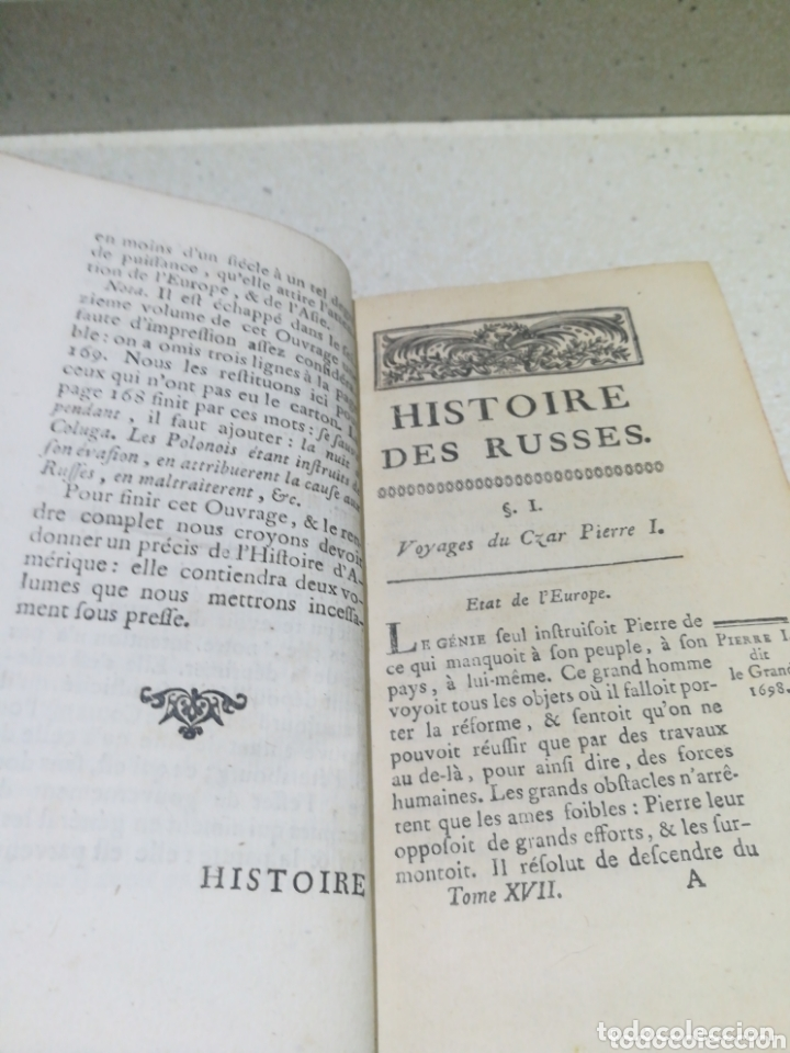 Libros antiguos: HISTORIE MODERNE 1770 - Foto 5 - 172373178