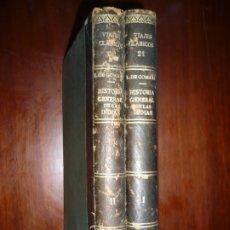Libros antiguos: 2 TOMOS HISTORIA GENERAL DE LAS INDIAS FRANCISCO LOPEZ DE GOMARA 1922 MADRID. Lote 172566200