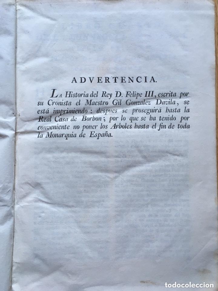 Libros antiguos: Libro Monarquía de España, escrita por el doctor don Pedro Salazar de Mendoza Tomo II. Madrid 1770 - Foto 4 - 173525057