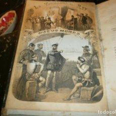 Libros antiguos: LA INQUISICIÓN, EL REY Y EL NUEVO MUNDO 2 TOMOS FLORENCIO LUIS PARREÑO - MADRID 1862 MEDIDA 23,5X16. Lote 173785059