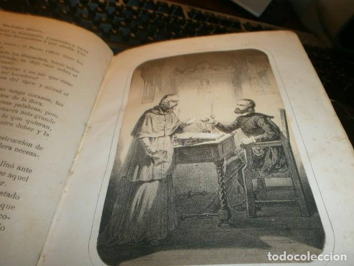 Libros antiguos: La inquisición, el Rey y el nuevo mundo 2 tomos Florencio Luis Parreño - Madrid 1862 medida 23,5X16 - Foto 7 - 173785059