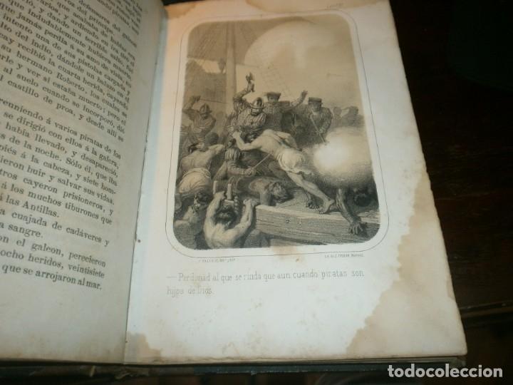 Libros antiguos: La inquisición, el Rey y el nuevo mundo 2 tomos Florencio Luis Parreño - Madrid 1862 medida 23,5X16 - Foto 10 - 173785059