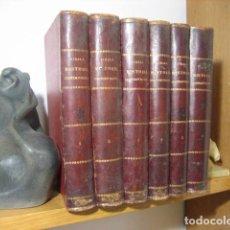 Libros antiguos: HISTORIA CONTEMPORÁNEA; ANTONIO PIRALA; 6 VOLS EDICIÓN AÑOS 1893-1895 COMPLETA - DESDE 1943 HASTA.... Lote 182278587