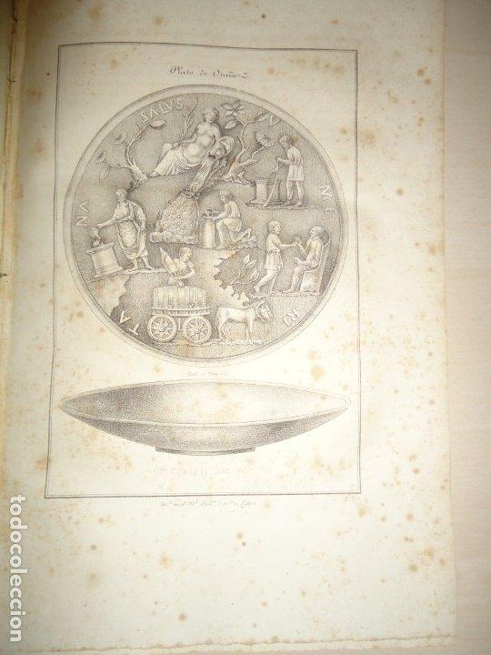 Libros antiguos: PLATO DE OTAÑEZ - BROCAL DE TRIGUEROS - PEDESTAL DE GUADIX. ACADEMIA DE LA HISTORIA 1832 - Foto 2 - 174103433