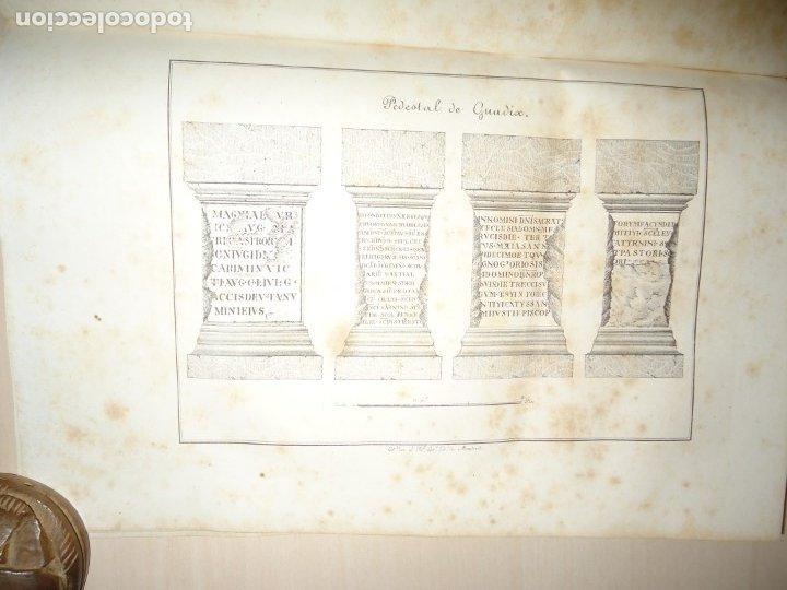 Libros antiguos: PLATO DE OTAÑEZ - BROCAL DE TRIGUEROS - PEDESTAL DE GUADIX. ACADEMIA DE LA HISTORIA 1832 - Foto 3 - 174103433