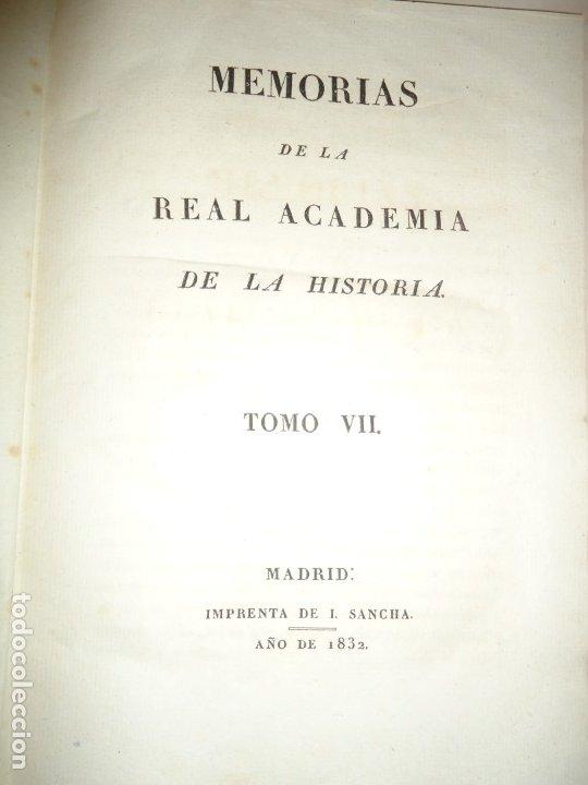 Libros antiguos: PLATO DE OTAÑEZ - BROCAL DE TRIGUEROS - PEDESTAL DE GUADIX. ACADEMIA DE LA HISTORIA 1832 - Foto 5 - 174103433