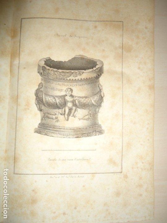 PLATO DE OTAÑEZ - BROCAL DE TRIGUEROS - PEDESTAL DE GUADIX. ACADEMIA DE LA HISTORIA 1832 (Libros antiguos (hasta 1936), raros y curiosos - Historia Moderna)