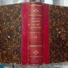Livres anciens: LABOULAYE. HISTORIA DE LOS ESTADOS UNIDOS. ESTUDIOS SOBRE SU CONSTITUCIÓN. TOMO I. 1871. Lote 174529703